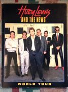 Huey Lewis & The News: Kiertuevihko /  Tour Program 1986
