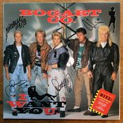 Bogart Co.: I Want You LP -Nimmarit / Autographed