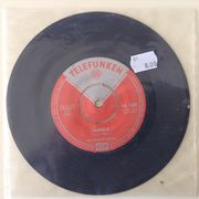 "Hootenanny Singers: La mamma / Gabrielle 7"" -FINLAND ONLY"