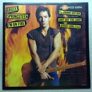 Bruce Springsteen: I'm On Fire / Johnny Bye Bye // Shut Out The Light / Jersey Girl (live) 12""