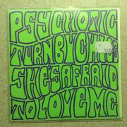 Psychotic Turnbuckles: She's Afraid To Love Me // Slow Death / High Energy 7""