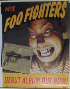 Foo Fighters: First Album Promoposter