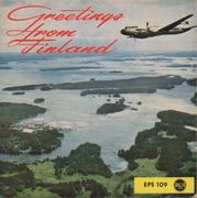 Kosta, Ensio and his Orchestra: Greetings from Finland EP, Finnair mainossingle