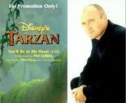 Collins, Phil: You'll Be In My Heart PROMO CD-single, Disney's Tarzan