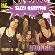 Suzi Quatro: Too Big / I Wanna Be Free