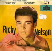 Ricky Nelson: Vol. 3 - Unchained Melody -EP