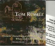 Russell, Tom - Iris DeMent - Dolores Keane: Throwin' Horseshoe at the Moon / When Irish Girls Grow Up CD-single: Throwin' Horseshoe at the Moon / When Irish Girls Grow Up CD-single
