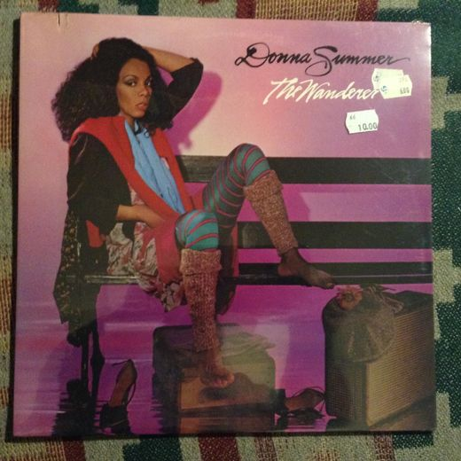 Donna Summer: The Wanderer LP -AVAAMATON