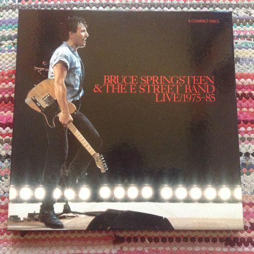 Springsteen, Bruce & The E-Street Band: Live/1975-85 3-CD BOX