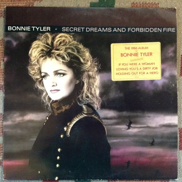 Bonnie Tyler: Secret Dreams And Forbidden Fire LP