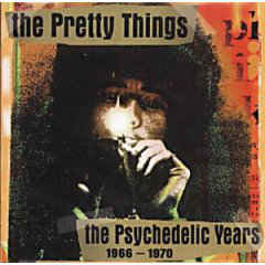 Pretty Things: The Psychedelic Years 1966-1970 2-CD UUSI / NEW