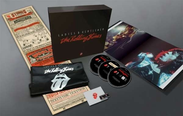 Rolling Stones: Ladies & Gentlemen 3 DVD De Luxe Box Set ltd. numbered
