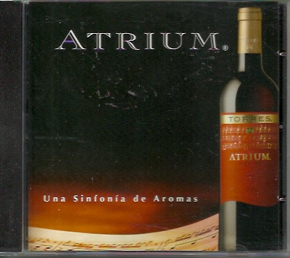 Atrium- Chill Jazz Music: Una sinfonia de aromas, Torres MAINOS-CD