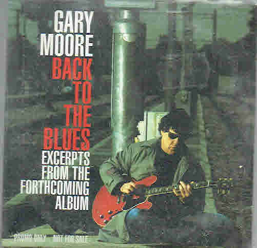 Moore, Gary: Back To The Blues PROMO