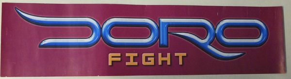 Doro: Fight promoposter