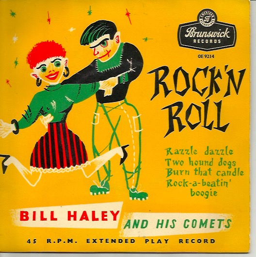 Bill Haley and his Comets: Rock'n'Roll -EP