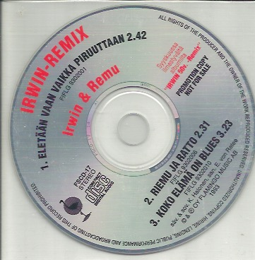 Goodman Irwin & Remu: Irwin-Remix CD-single, PROMO