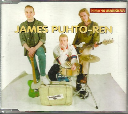 James Puhto-ren: Two for the road CD-single