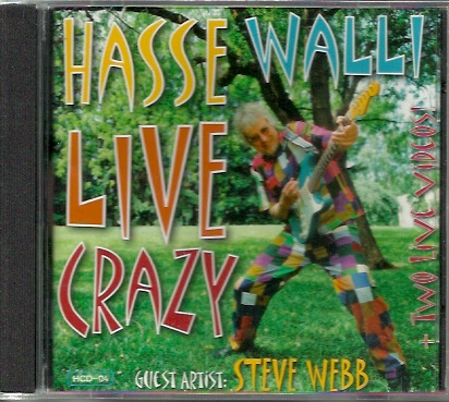Hasse Walli: Live Crazy CD UUSI / NEW
