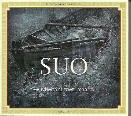 Suo: Mieltäni meri ajaa - The Sea drives my Mind CD, UUSI / NEW