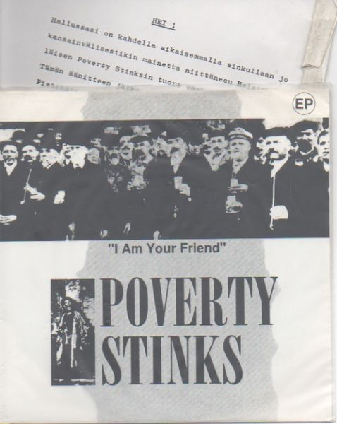 Poverty Stinks: I Am Your Friend -EP