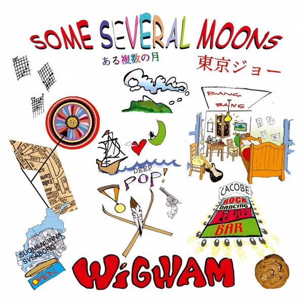 Wigwam: Some Several Moons 2-LP,  UUSI / NEW