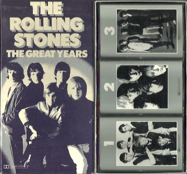 Rolling Stones: The Great Years 3 C-kas Box Set