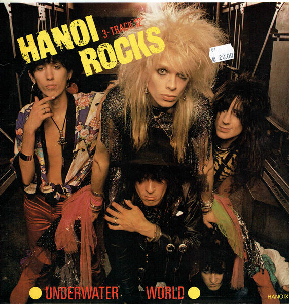 Hanoi Rocks: Underwater World 12""