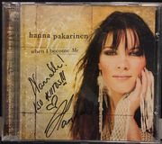 Hanna Pakarinen: When I Became Me CD. NIMIKIRJOITUS