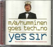 M. A. Numminen Goes Tech-no: Yes Sir 2-CD, UUSI / NEW