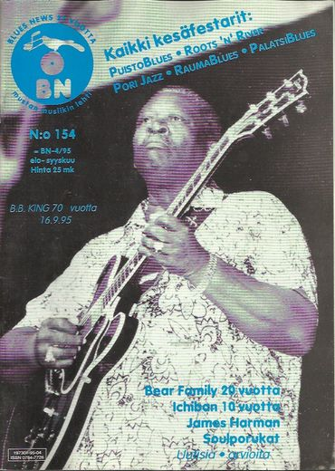 Blues News lehti nro 154; 4/1995
